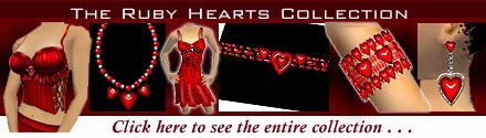 Ruby Hearts Collection